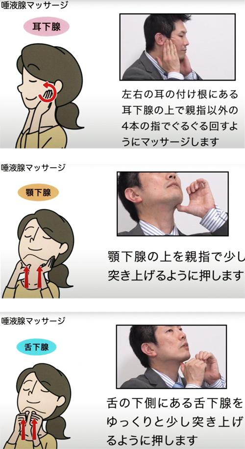 口腔機能低下症で使用する機能改善方法を実演解説