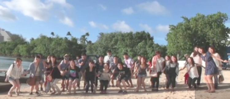 50名以上のスタッフと、グアムへ社員旅行