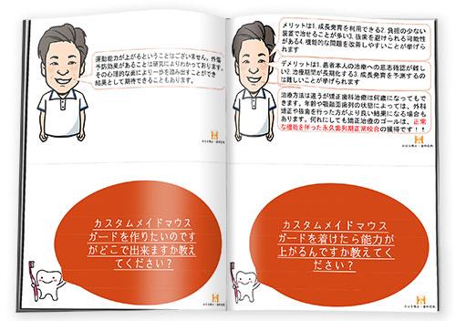 小児の不正咬合Q&A冊子